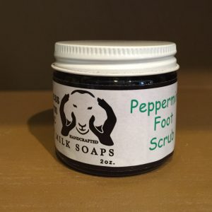 Peppermint Foot Scrub (2oz)-0